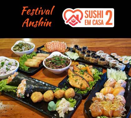 Foto dos itens incluso no festival Anshin 2