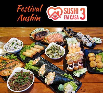 Foto dos itens incluso no festival Anshin 3